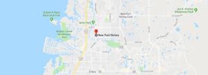 map of new port richey florida